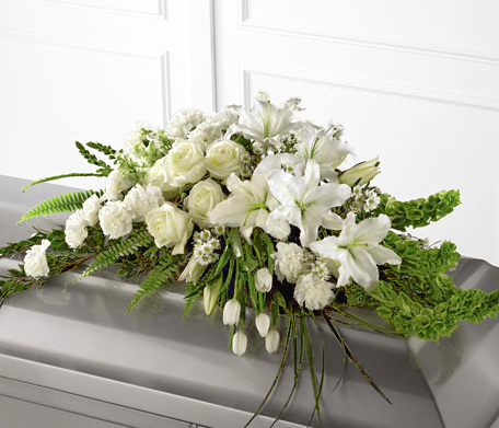 Ftd Resurrection Casket Spray Family Funeral Flowers