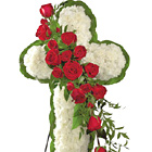 FTD® Floral Cross with Roses