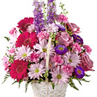FTD® Pastel Peace Flowers Basket