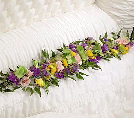 FTD� Trail of Flowers Casket Adornment