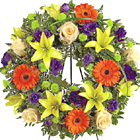 FTD® Radiant Remembrance Funeral Wreath