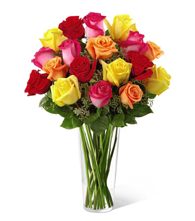 FTD® Bright Spark 18 Roses Bouquet