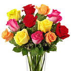 FTD® Bright Spark Roses Bouquet