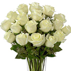 FTD® White 18 Roses Bouquet