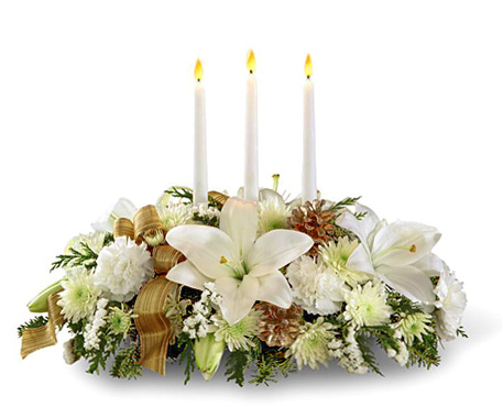 Ftd Seasons Glow Candle Centerpiece At 800florals Com