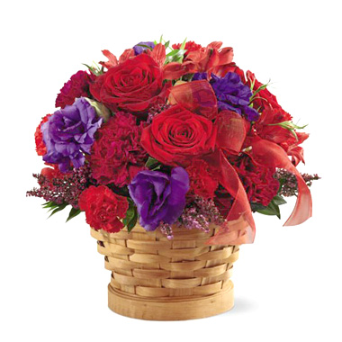 1-800-FLORALS coupon: FTD® Basket of Dreams Bouquet