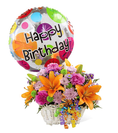 FTD Happy Birthday Blooms Basket