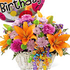 FTD� Happy Birthday Blooms Basket