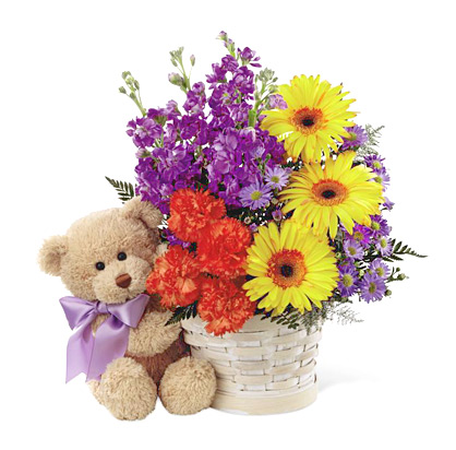 FTD® Best Year Flowers Basket Deluxe