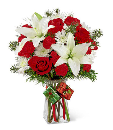 FTD� Joyous Holiday Bouquet Deluxe