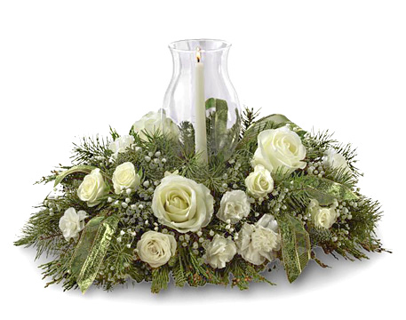 FTD® Glowing Elegance Centerpiece Deluxe