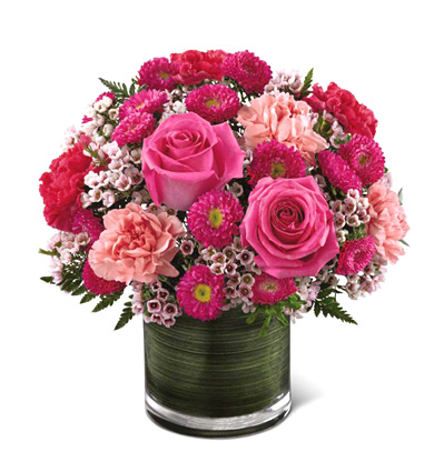 FTD� Pink Pursuits Bouquet Deluxe