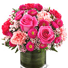FTD® Pink Pursuits Bouquet Deluxe