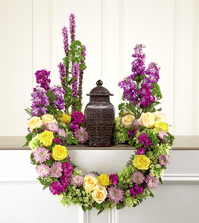 FTD� Garden of Grace Urn Arrangement