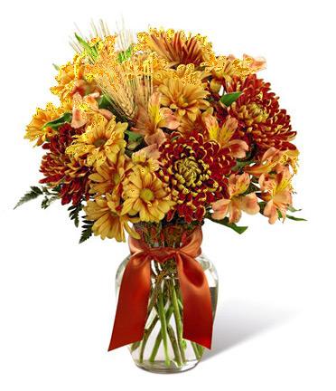 1-800-FLORALS coupon: FTD® Autumn Roads Bouquet