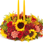 FTD� Giving Thanks Centerpiece Dlx.