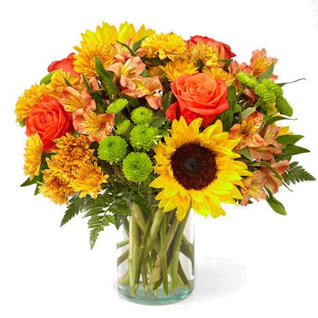1-800-FLORALS coupon: FTD® Golden Hour Bouquet Deluxe