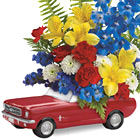 Teleflora 65 Ford Mustang Bouquet