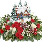Teleflora® Thomas Kinkade Country Christmas