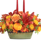 Teleflora� Country Oven Centerpiece