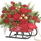 Teleflora� Vintage Sleigh Bouquet