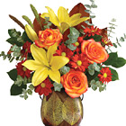 Teleflora® Citrus Harvest Bouquet