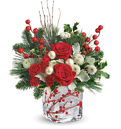 - Teleflora� Winterberry Kisses Bouquet
