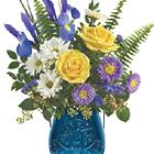 Teleflora� Sapphire Garden Bouquet