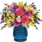 Teleflora� Burst Of Blue Bouquet