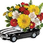 Teleflora 67 Chevy Camaro Bouquet
