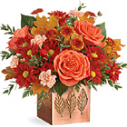 Teleflora� Copper Petals Bouquet