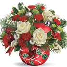 Teleflora® Classic Holly Ornament
