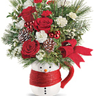 Teleflora� Send a Hug Festive Friend