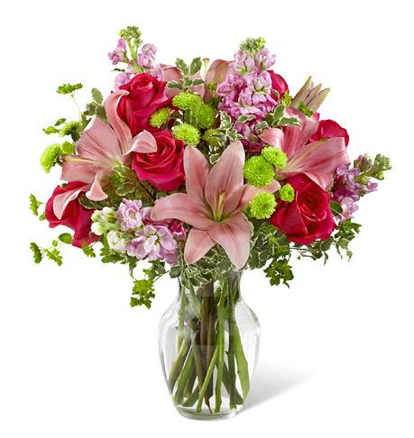 FTD Pink Posh Bouquet Premium