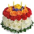 Wish Granted Birthday Cake Bouquet