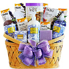 Luxurious Lavender Spa Basket