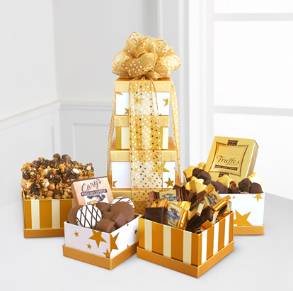 - Golden Tower of Chocolates