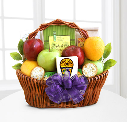 - Fruitful Greetings Gourmet Gift Basket