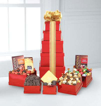 - Tower of Godiva� Chocolate