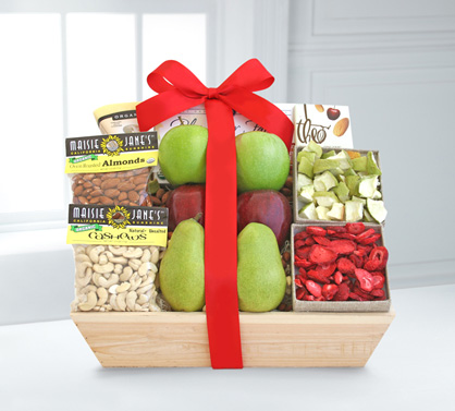 Natural Organic Gift Crate