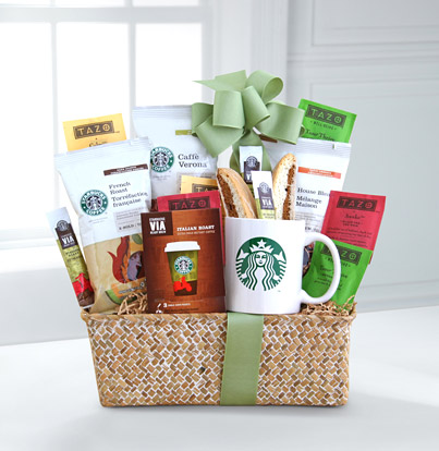 - Starbucks® Evergreen Coffee and Tea
