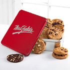 Mrs. Fields Classic Tin with One Dozen Assorted Cookies