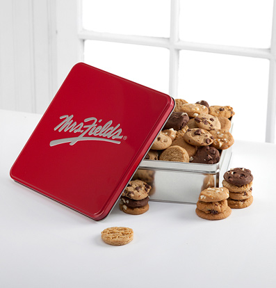 Mrs. Fields® Classic Tin with 48 Nibblers®