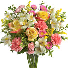 International � Pink, Yellow and White Bouquet