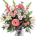 International - Fancy Pink and White Bouquet