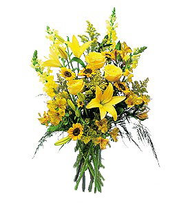 International - Sunny Yellow Mixed Bouquet