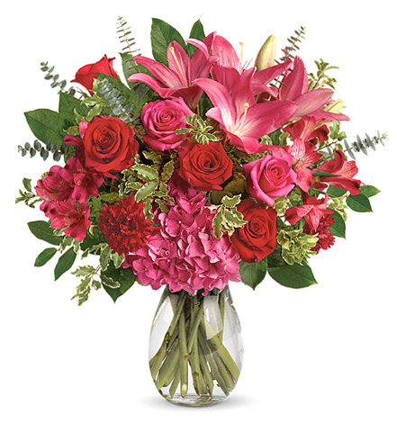 Love Struck Flowers Bouquet