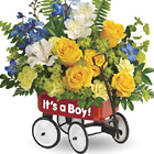 Teleflora� Sweet Little Wagon Bouquet