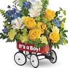 Teleflora� Sweet Little Wagon Bouquet