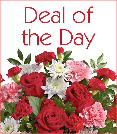 Deal of the Day Valentines Bouquet